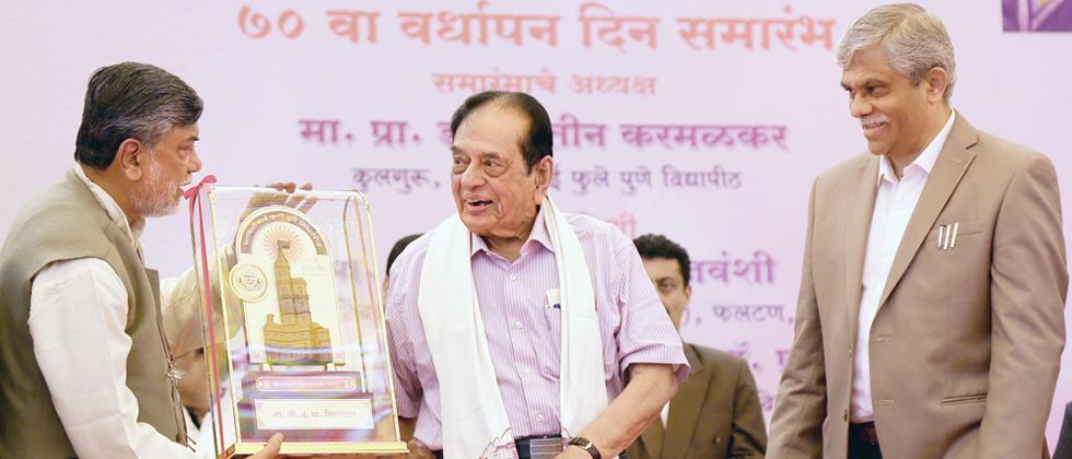 Pune varsity celebrates its 70th Foundation Day