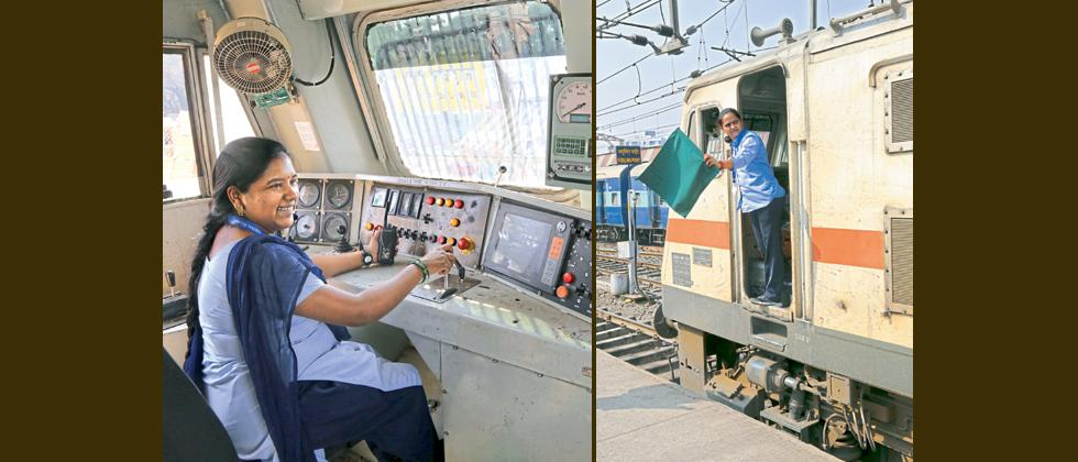 Now, women master tough job of loco driver