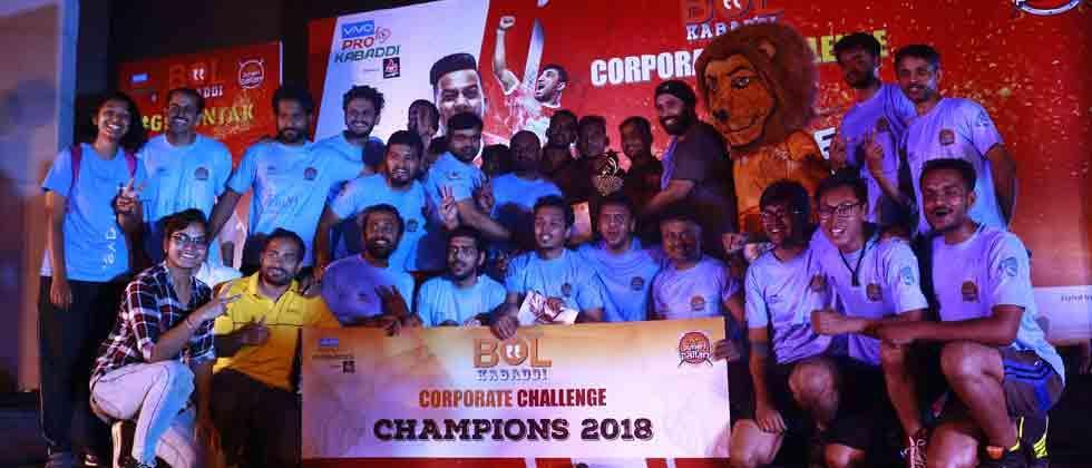 FinIQ team wins Puneri Paltan's Bol Kabaddi Challenge title