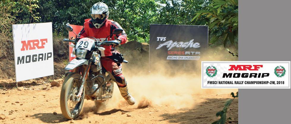 Natraj, Rajendra duel on cards in MRF Godspeed Rally of Pune