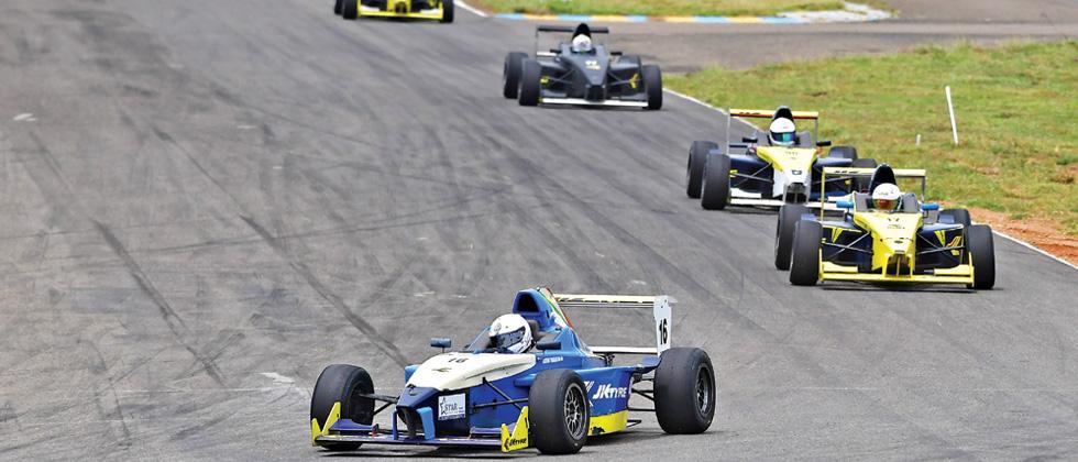 Tharani, Vishnu put Chennai ahead at Kari Motor Speedway