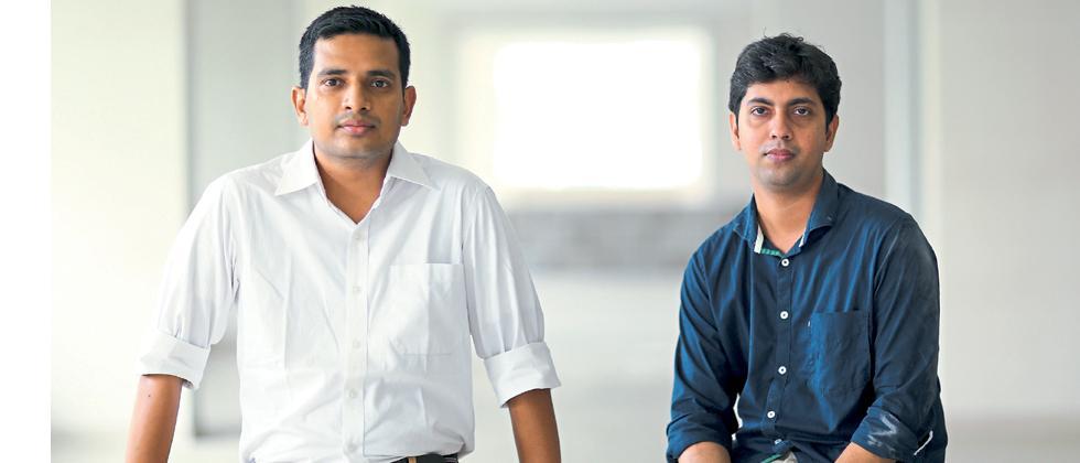 Zishaan Hayath, and Hemanth Goteti, cofounders  of Toppr
