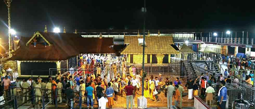 Sabarimala temple shut after two women pray at shrine