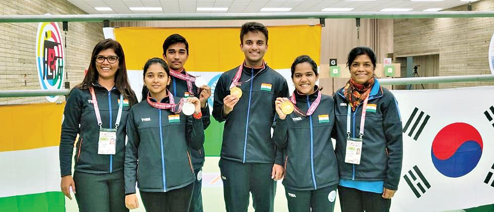 India pile up the medals at Asian Airgun Championships
