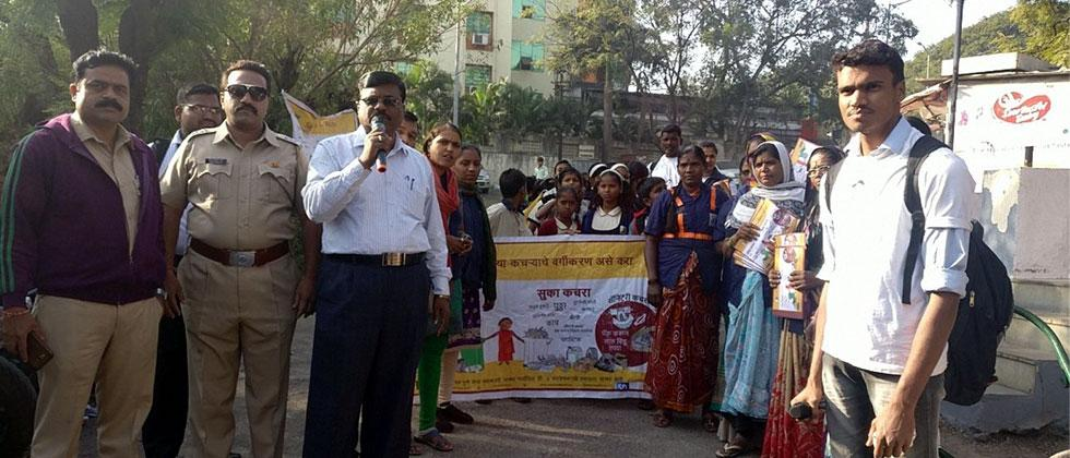 SWaCH, PMC hold rally to advocate waste segregation