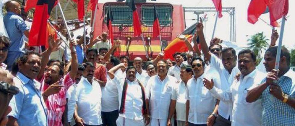 TN parties protest against Modi government