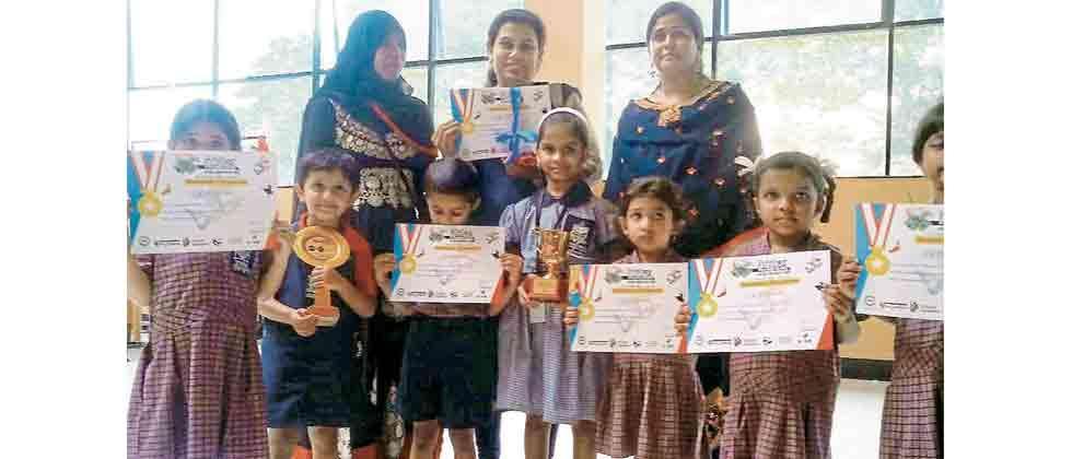 VME Society's Pre-Primary School wins dance contest