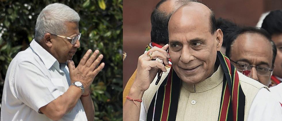 Rajnath speaks to Tripura Guv & DGP; asks to check violence