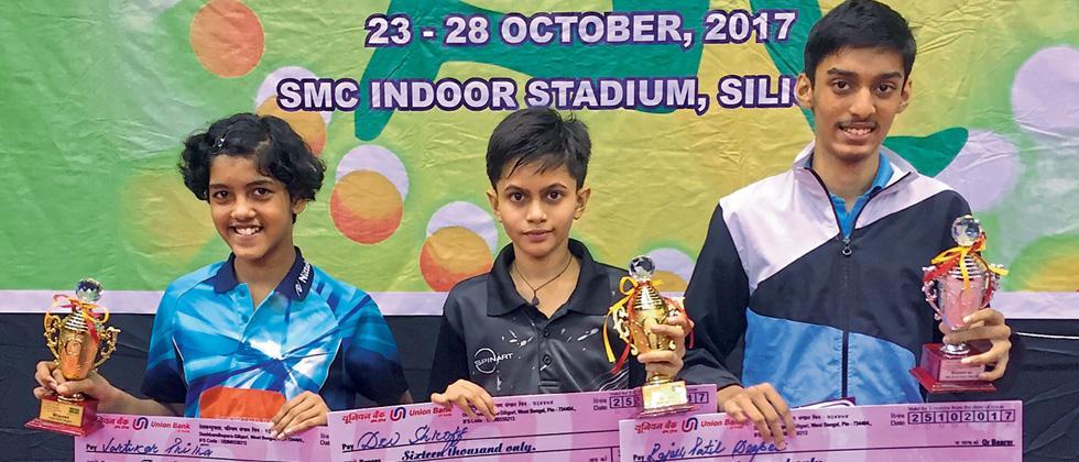 Maharashtra's Dev, Prutha win titles in National TT