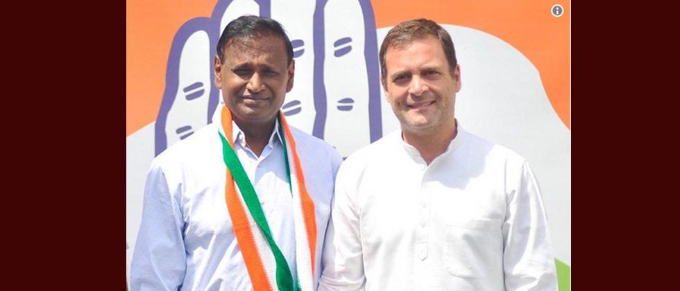 Disgruntled MP Udit Raj leaves BJP, joins Congress