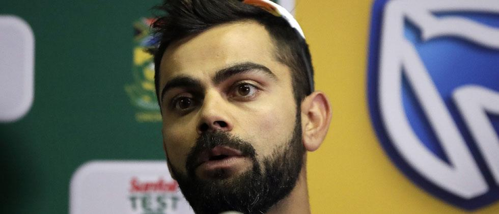 Kohli named ICC Cricketer of the Year