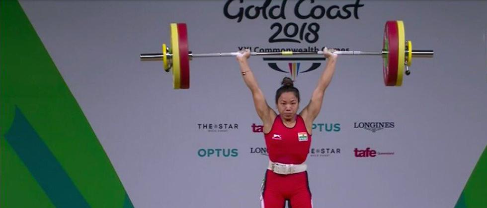 Record-breaking Mirabai Chanu claims India's first gold of 21st CWG