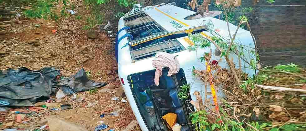 Two killed, 24 injured in accident at Tamhini Ghat