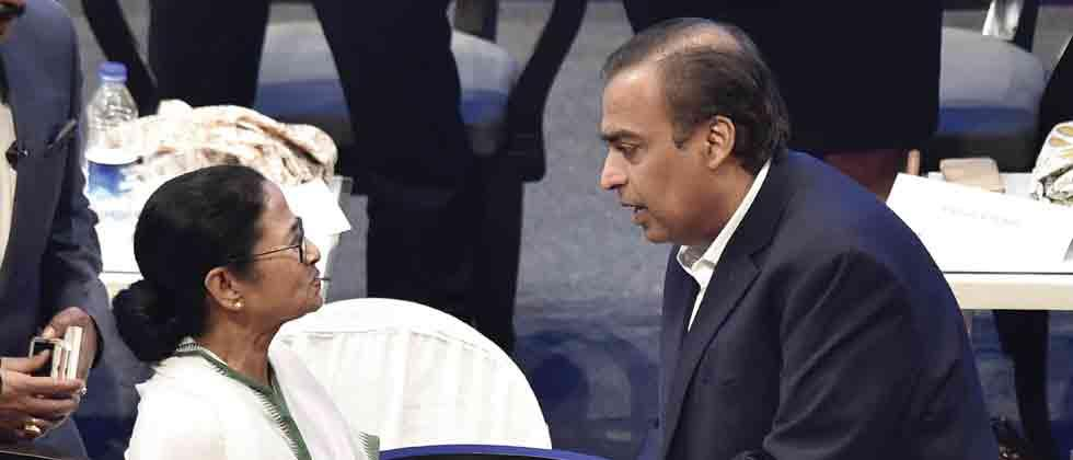 Ambani says to invest Rs 10,000 cr in West Bengal in telecom, e-comm expansion