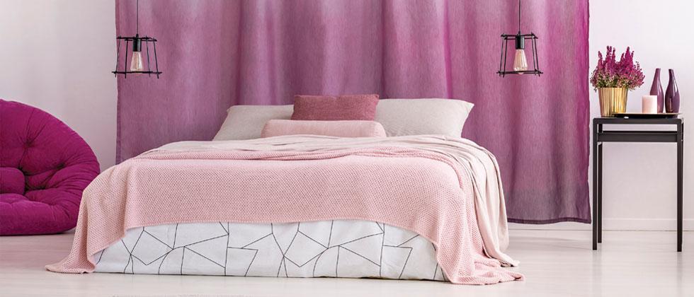 Avoid dark, heavy linen carpets in small spaces