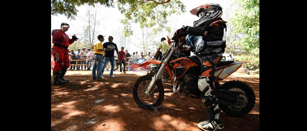 Yuvraj, India's lone flag-bearer in Asia Motocross