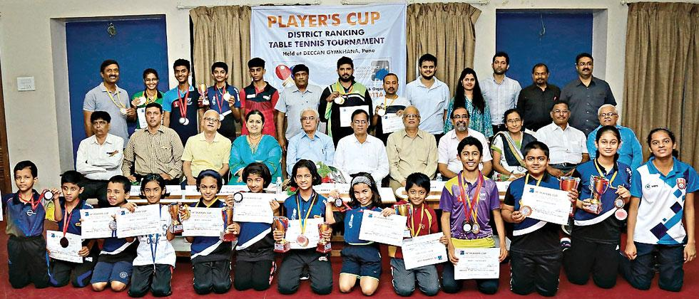 All the winners across different categories pose with their medals and certificates on Wednesday