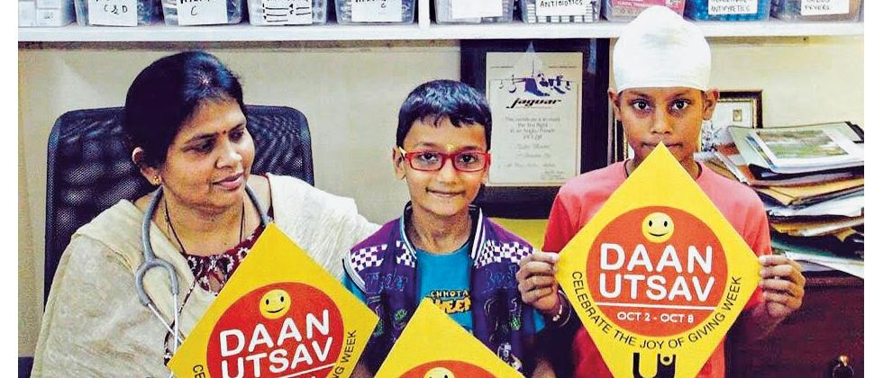 Daan Utsav will begin from October 2.