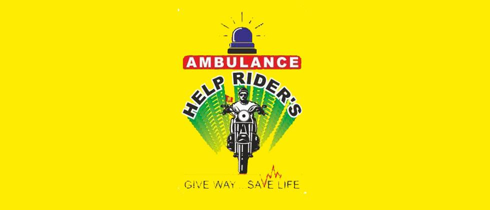 'Help Riders' to ensure ambulances caught in traffic jams get passage