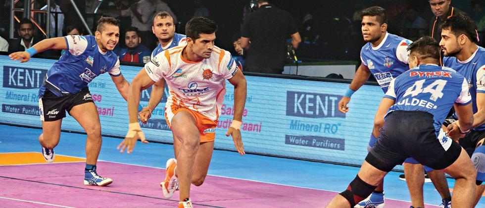 Narwal shines for Puneri Paltan