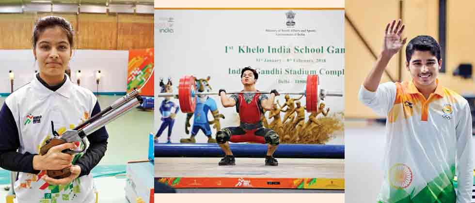 YOG gold medallists at Khelo India