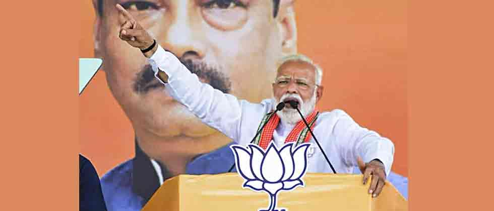 Modi claims TMC's 40 MLAs in touch with him
