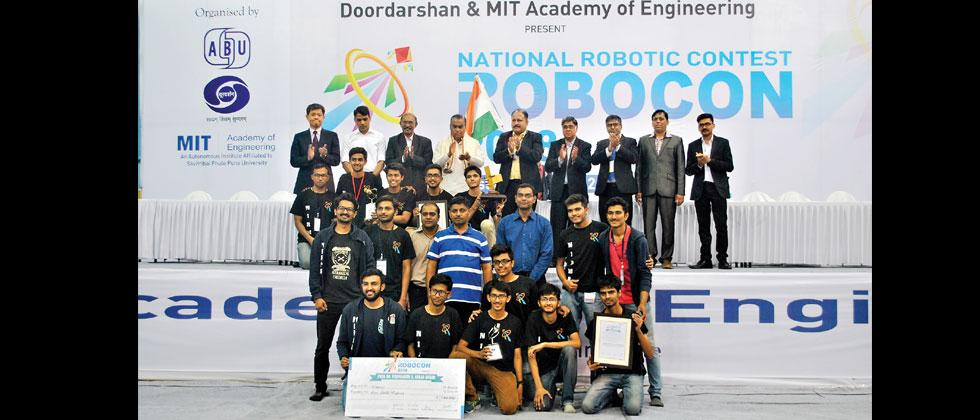 Nirma University wins ABU National Robocon 2018