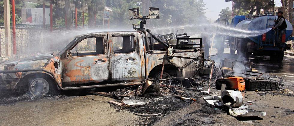 IS terror looms large over Afghanistan