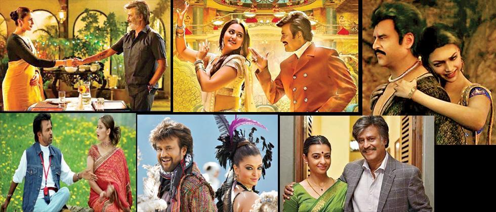 Rajini, the romantic hero on screen
