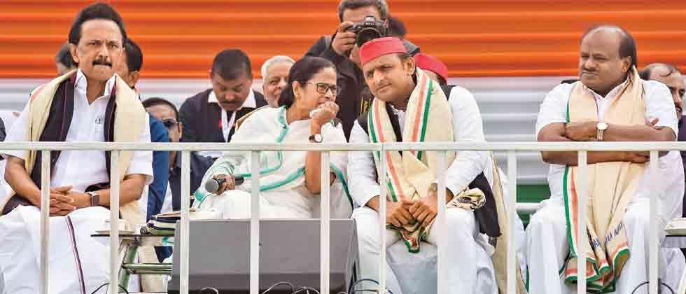 Anti-BJP alliance is like Shiv ji ki baraat without a groom and Modi knows it