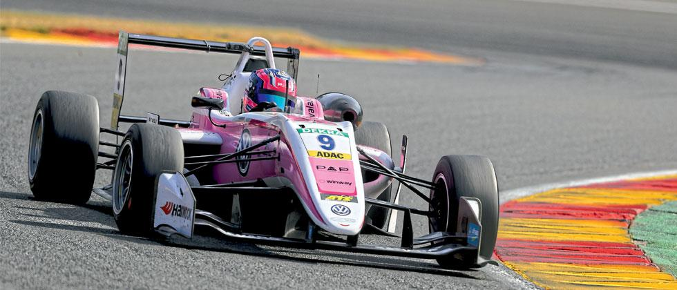 Jehan Daruvala achieved few personal bests at the Spa on Friday in F3 opener