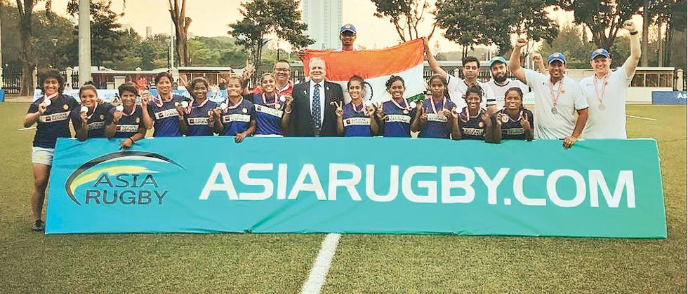 Vahbiz leads India to silver medal