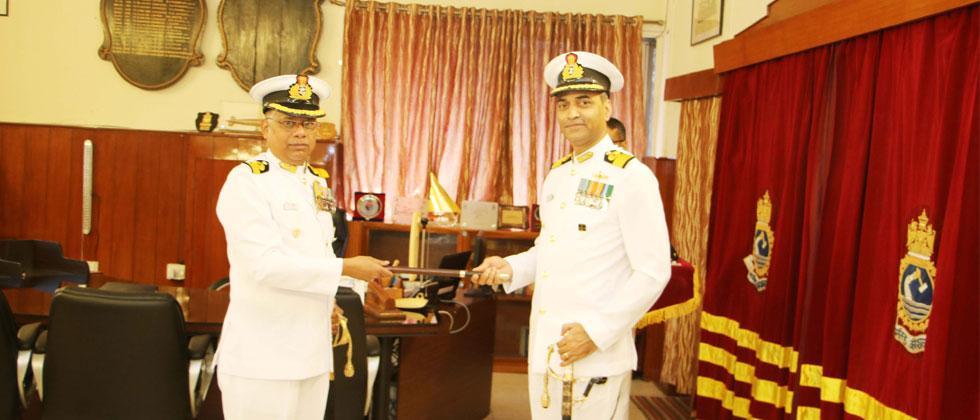 Change of command at INS Shivaji