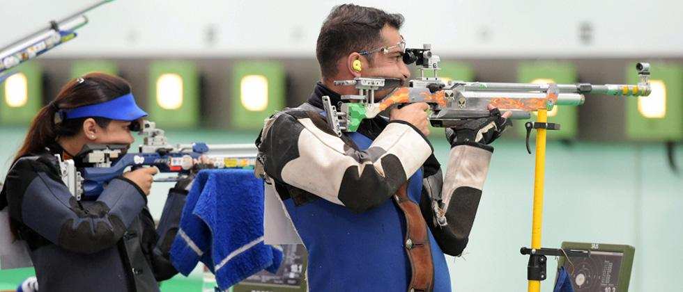 Shooting: Apurvi & Ravi clinch Bronze