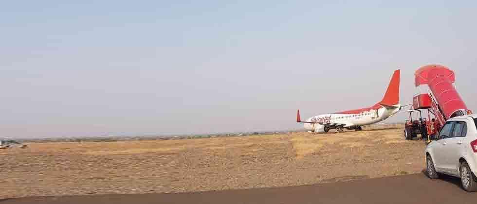SpiceJet plane overshoots Shirdi runway on landing; pax safe