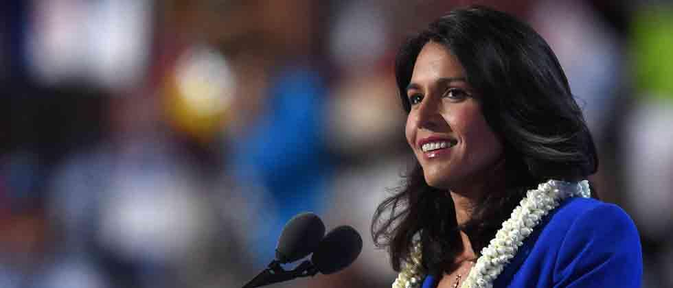 Tulsi Gabbard announces 2020 presidential run to take on Trump