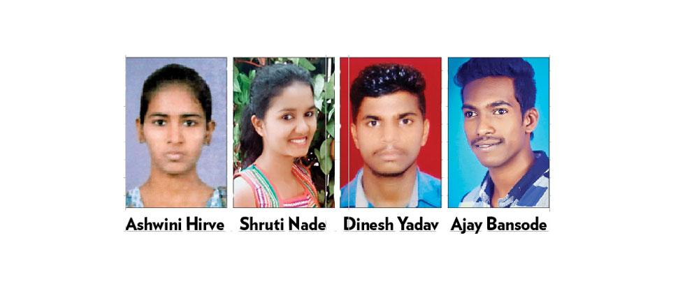 Underprivileged students triumph against all odds