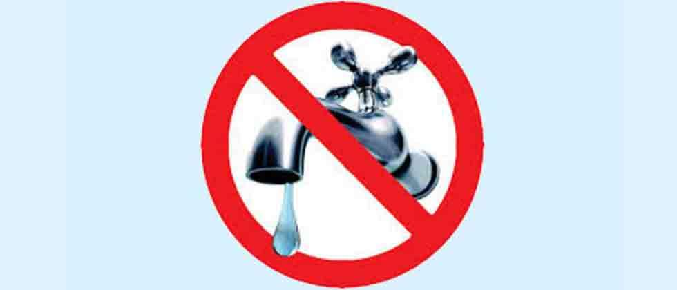 No water supply on Thursdays