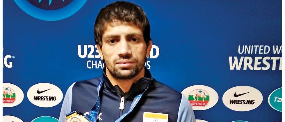 Ravi wins silver at U-23 world wrestling