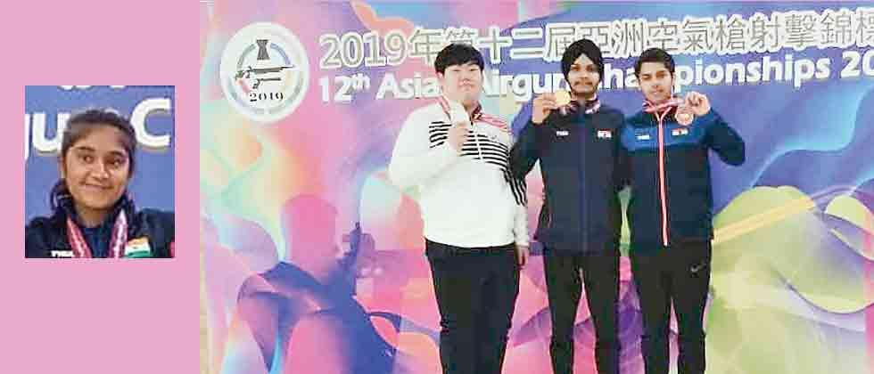 Sarabjot, Esha add to India's gold haul