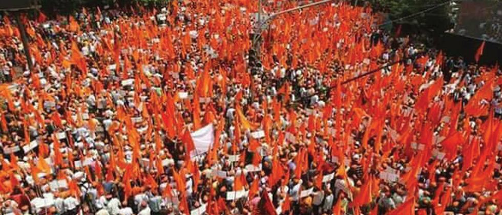 Marathas take out massive march in Mumbai