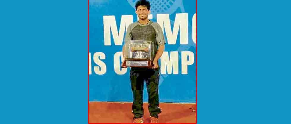 Nitten Kirrtane wins double crown in Chennai