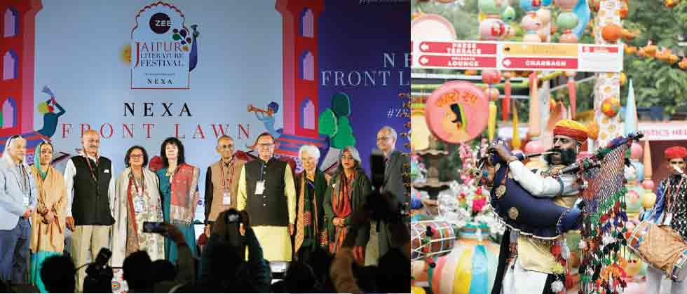 Jaipur Literature Fest begins on a high note