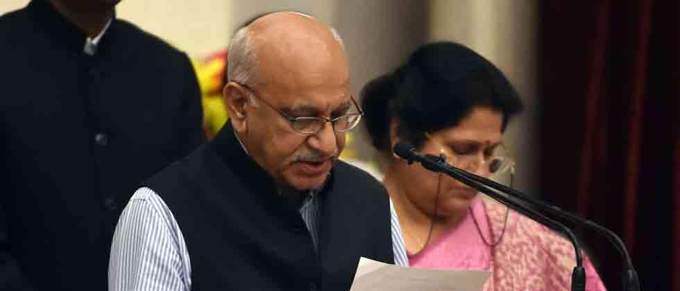 M J Akbar resigns as minister