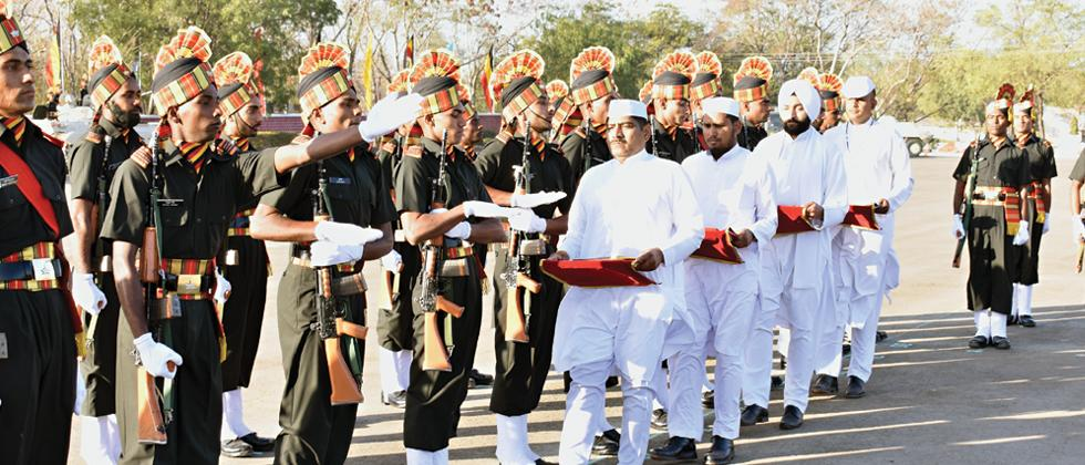299 recruits pass out from the MIRC, Ahmednagar