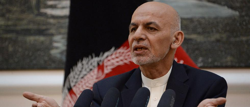 Rocket attacks hit Kabul during Ghani's Eid speech