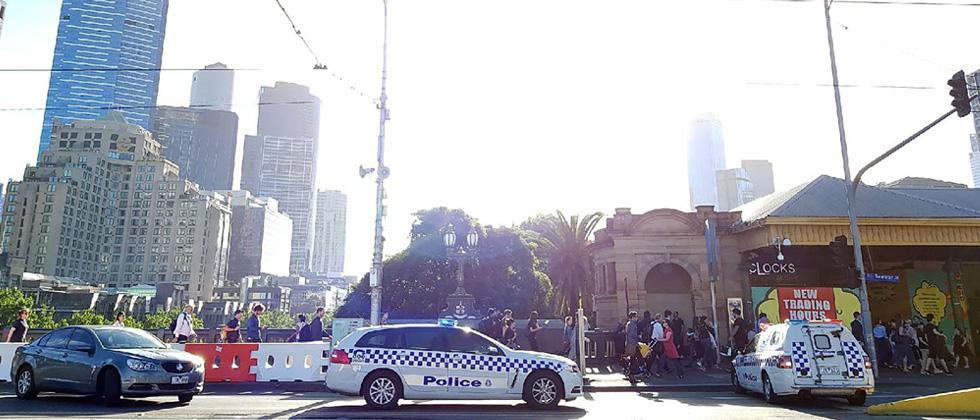 13 hurt as car deliberately hits crowd in Melbourne: police