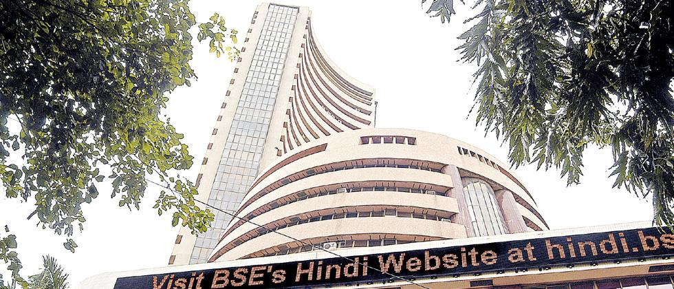 Global cues subdue equity indices; Sensex down over 250 points