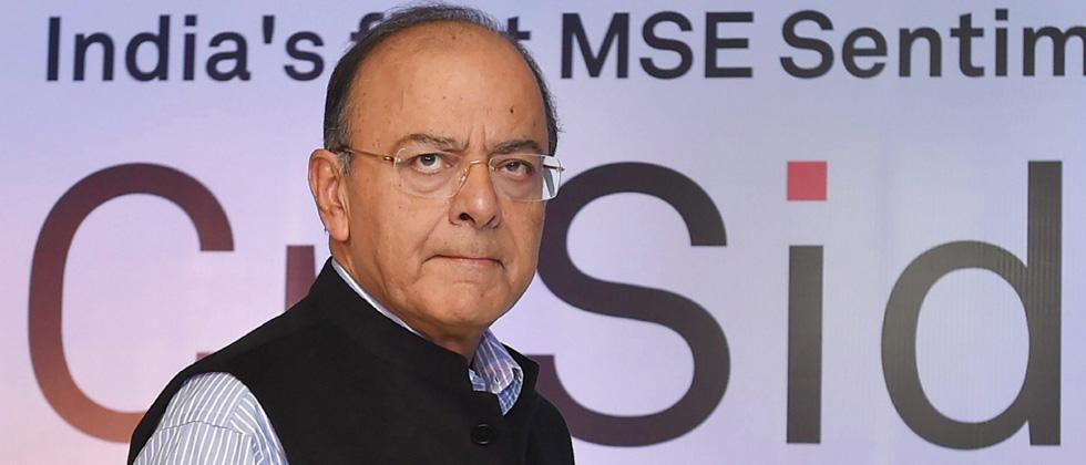 Market crash not due to LTCG tax: Jaitley
