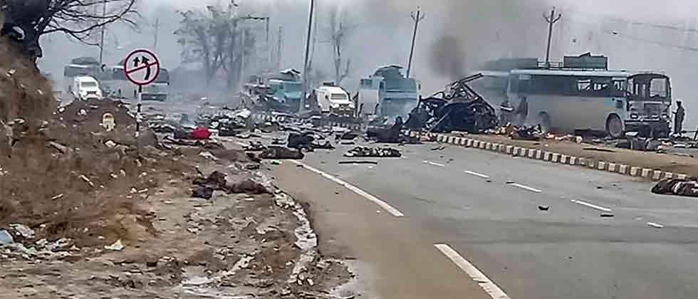 42 CRPF personnel martyred in J&K terror attack